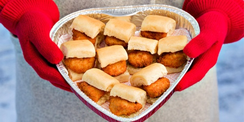 Show Your Love This Valentine's Day w/ Heart-Shaped Treat Platters From Chick-fil-A