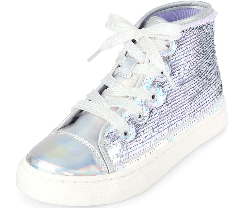 Children's Place Holographic Shoes
