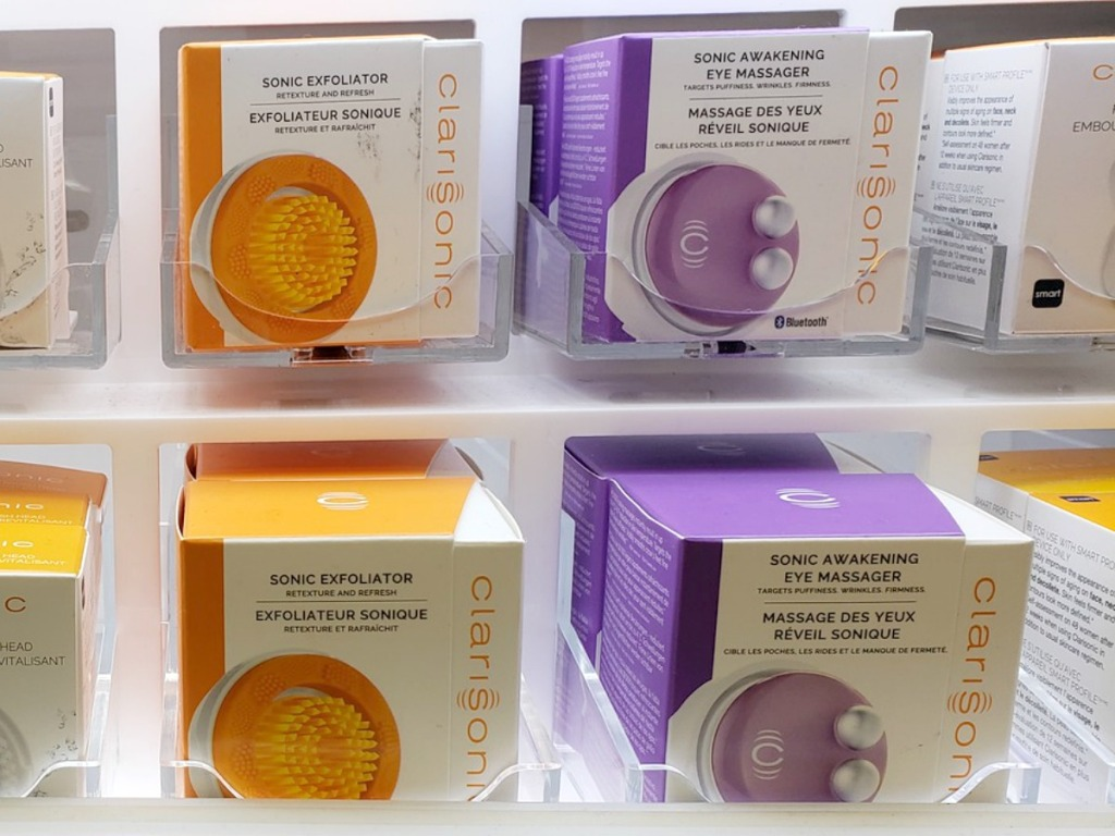 Boxes of Clarisonic Attachments
