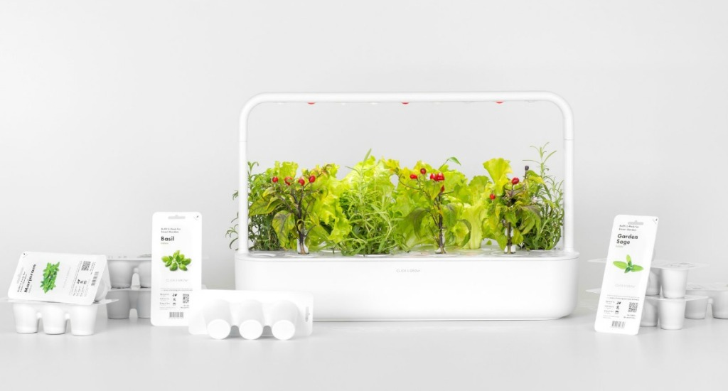 Indoor plant growing kit