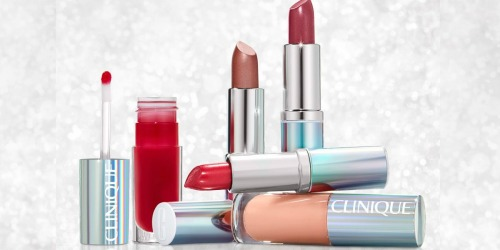 Clinique 5-Piece Lipstick Set Only $12.50 at Macy's