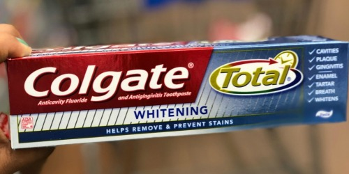 Colgate Total Whitening Toothpaste 4-Pack Only $5.90 Shipped at Amazon