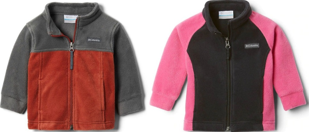 baby fleece jackets for boys and girls