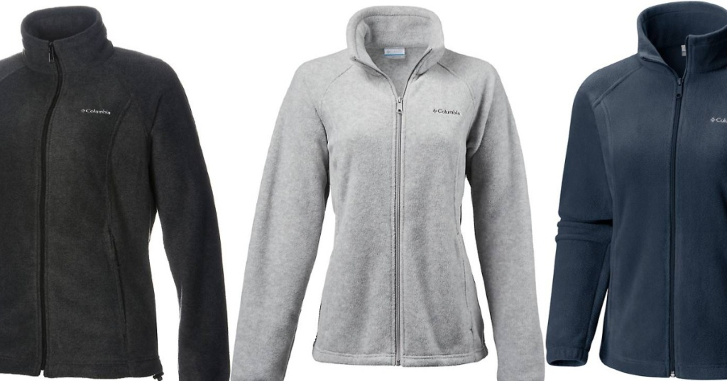 Adult Columbia Fleece Jackets