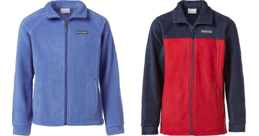 Kids Columbia Steens Fleece Jackets