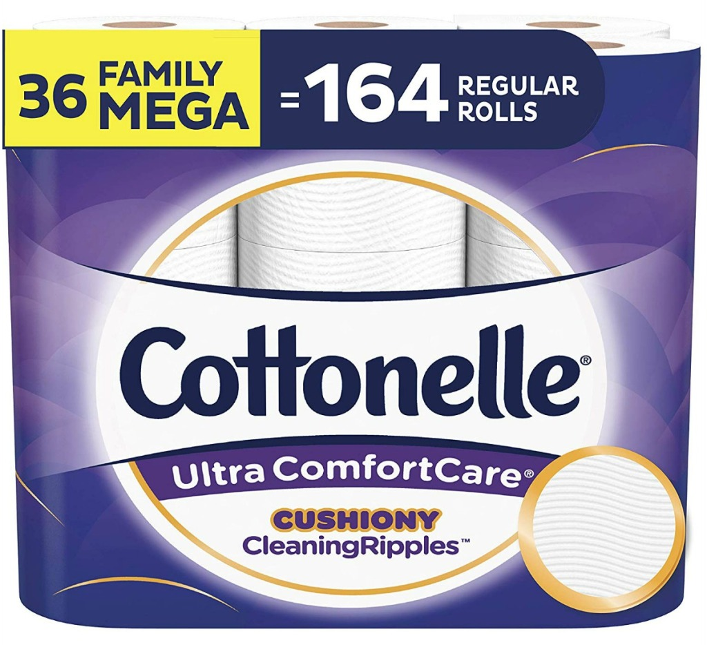 Cottonelle Ultra toilet paper 36-roll package
