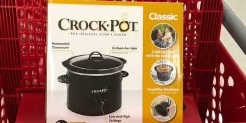 Crock-Pot 2-Quart Slow Cooker Only $8.49 on Target.com