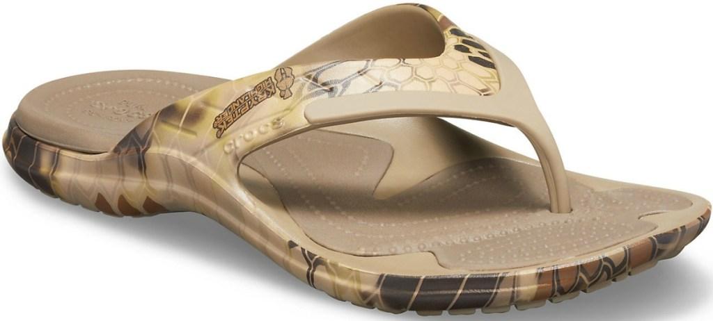 Crocs men's flip flop sandal