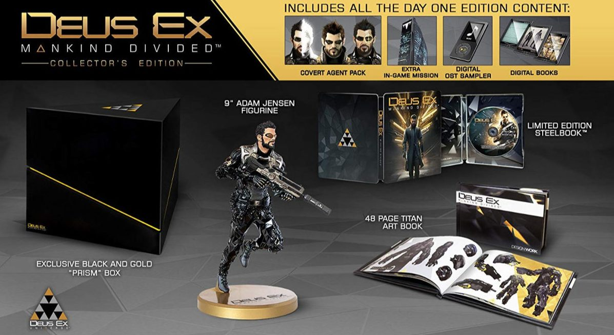 Deus Ex: Mankind Divided Collector's Edition for Xbox One