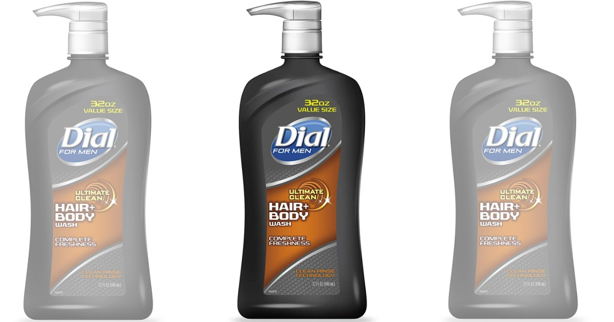 Dial for Men Hair + Body Wash 32oz