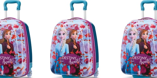 Up to 75% Off Disney's Frozen 2 Kids Luggage & Free Shipping for Cardholders