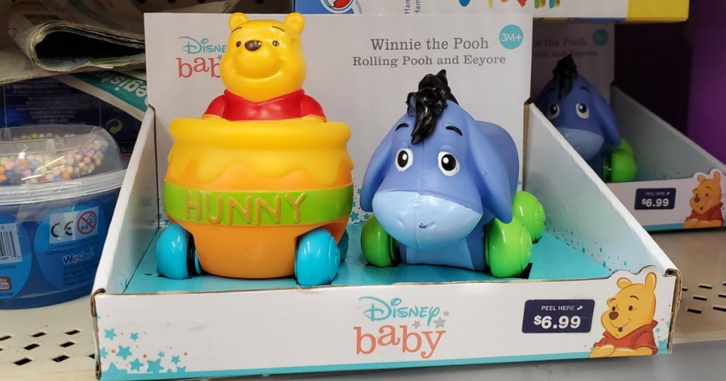 Disney Baby Toys on Walgreens Shelf