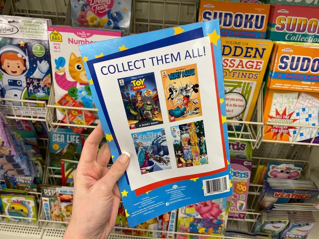 Disney Books at Dollar Tree