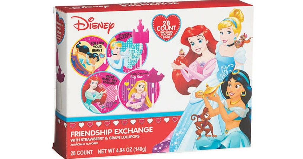 Disney Princess Valentines box