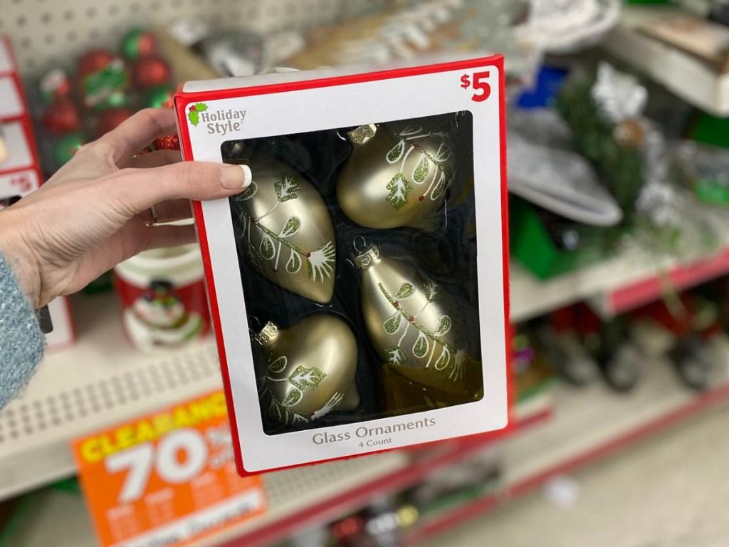 Dollar General Holiday Ornaments