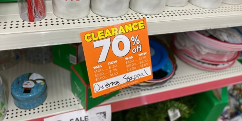 70% Off Christmas & Holiday Clearance at Dollar General
