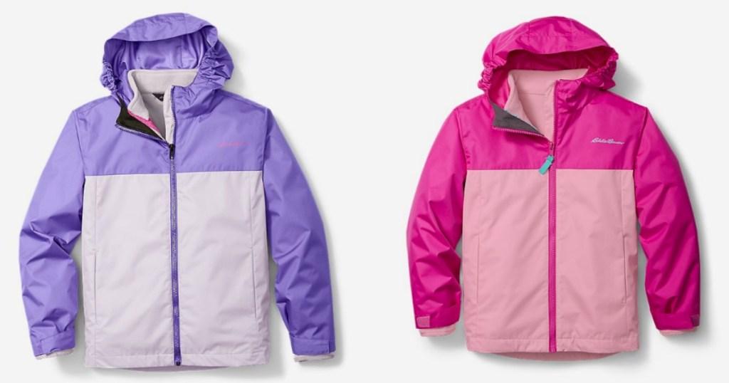 Eddie Bauer 3-in-1 Girls Coat