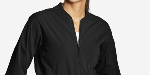 Eddie Bauer Women's Bomber Jacket Only $25 (Regularly $100) + More