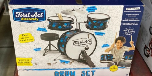 Up to 50% Off Toys at Sam's Club   Drum Set, Vanity Table & More