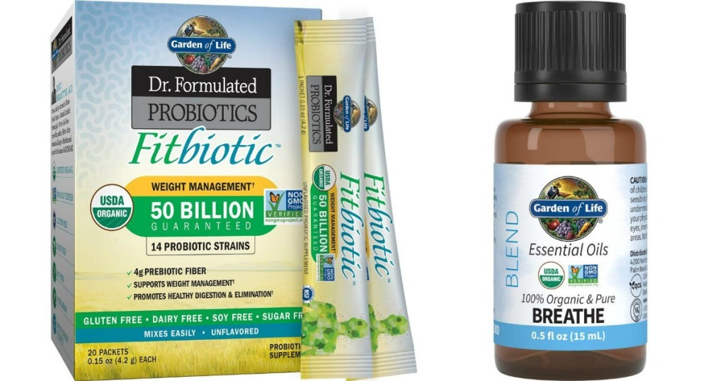 Fitbiotic and Breathe Oil Blend