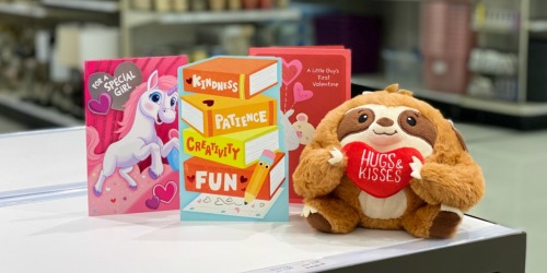 FREE Plush Toy ($7 Value) w/ Purchase of 3 Greeting Cards at Target
