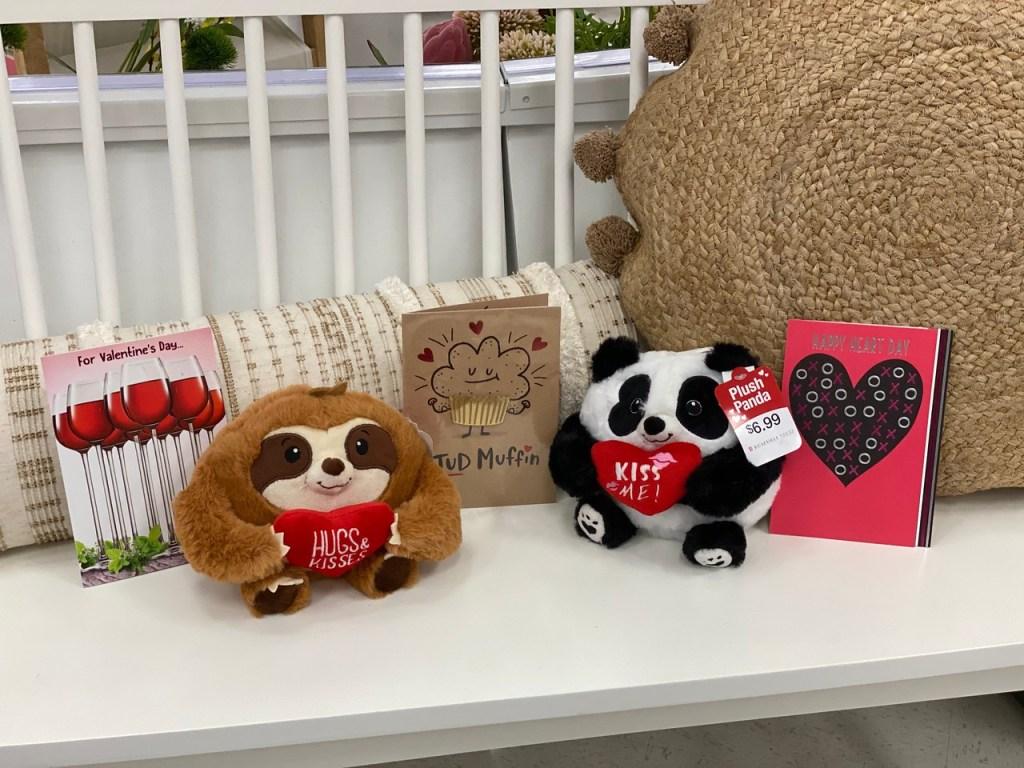 Free Plush Sloth or Panda at Target