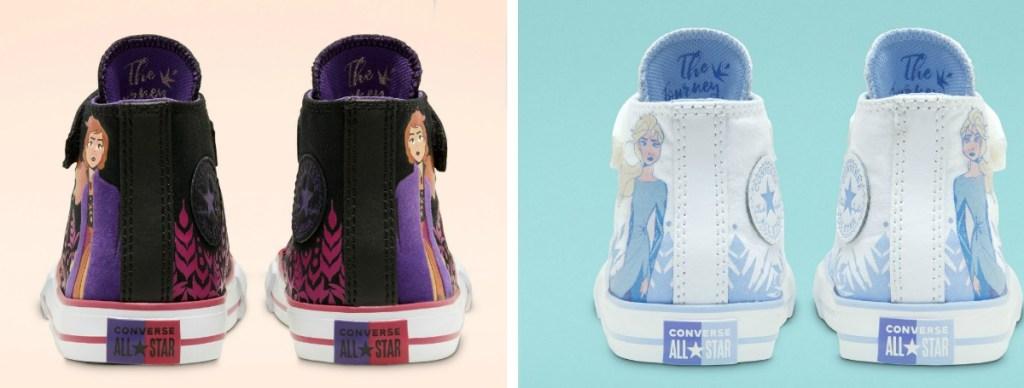 Frozen Elsa or Anna Converse High Tops
