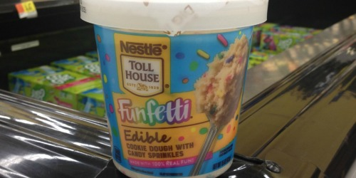 Nestle Toll House Releases Edible Funfetti Cookie Dough and Brownie Batter