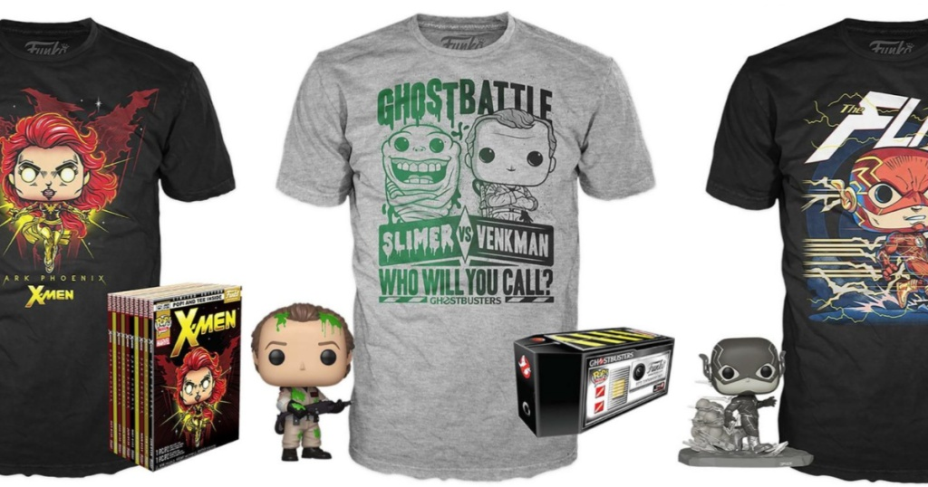 Funko Pop and T-Shirts