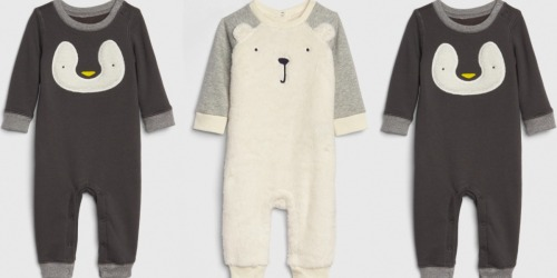 Gap Baby Cozy Critter One-Piece Pajamas Only$7.60 (Regularly $40) + More