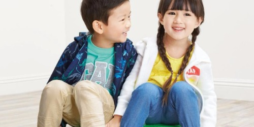 Up to 80% Off GAP Factory Kids Apparel + Free Shipping