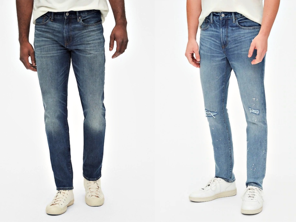 Gap Men's Jeans on models