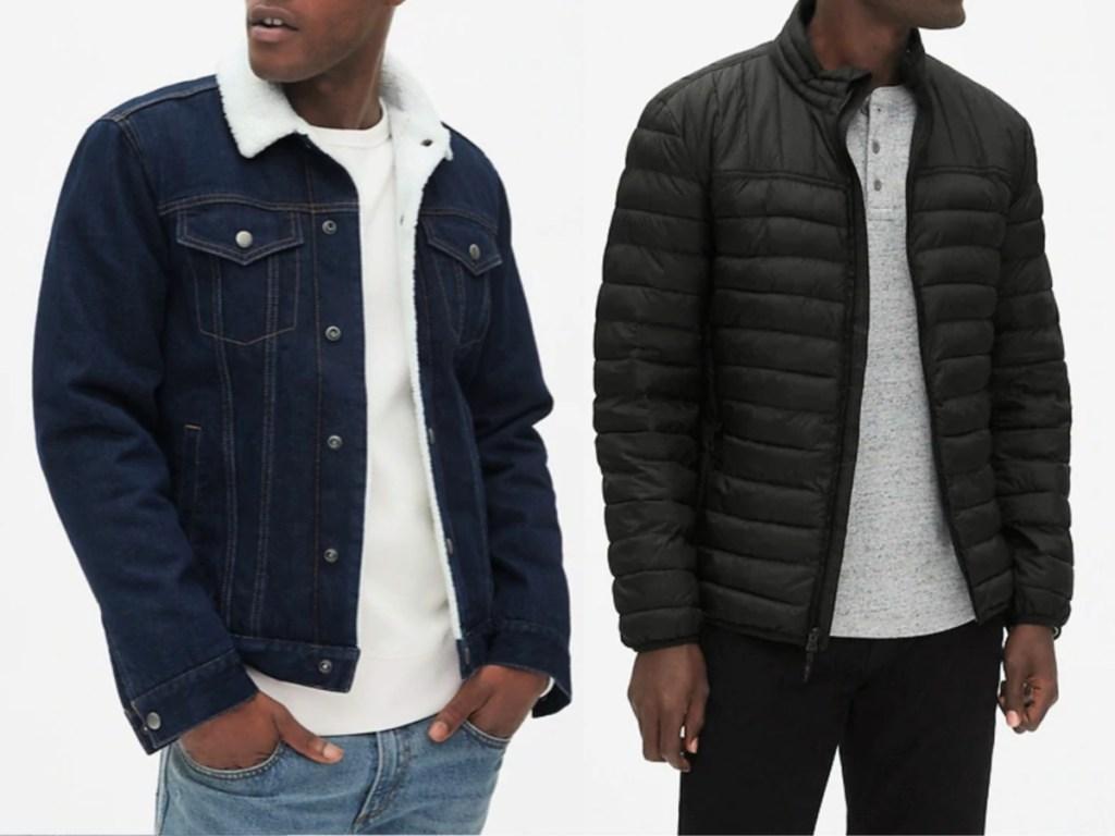 Gap Men's Outerwear on models