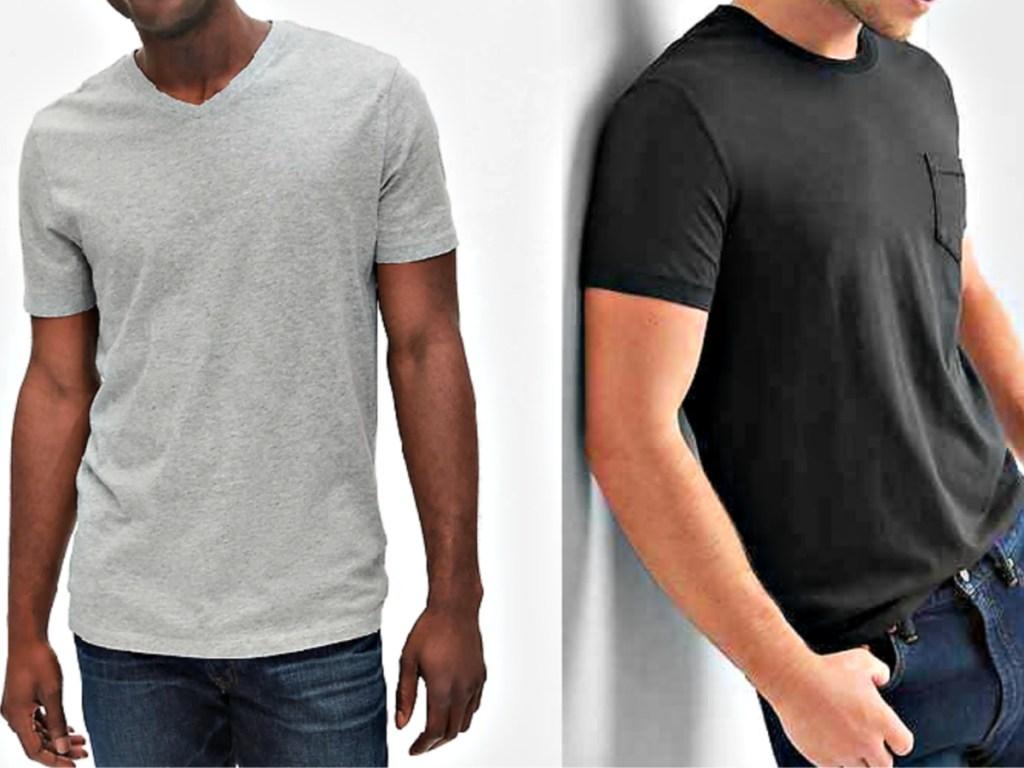 Gap Men's Tees on Models