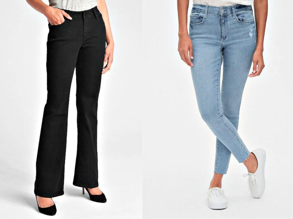 Gap Women's Jeans on models