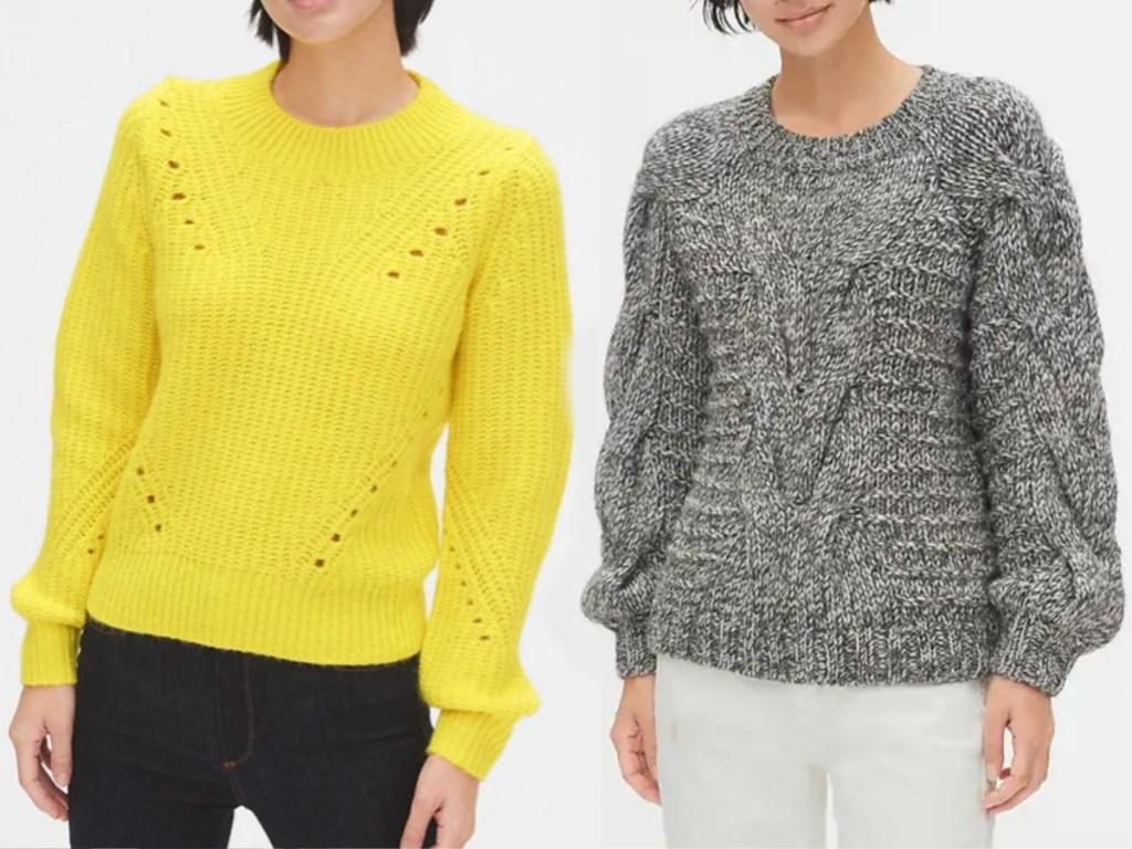 Gap Women's Sweaters on models