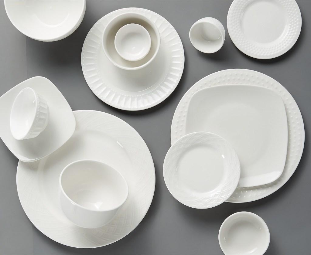 Gibson White Dinnerware