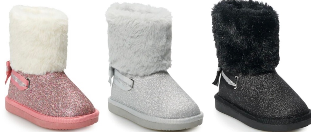 Girls boots from Kohl's