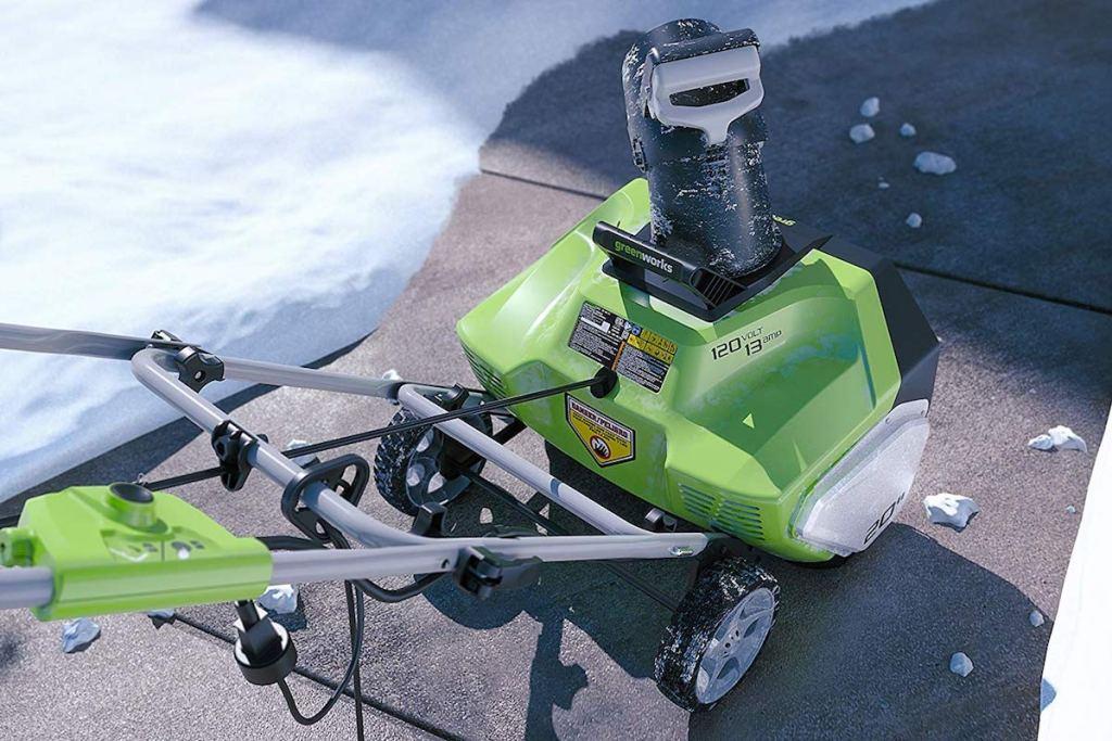Greenworks 20 Snow Thrower