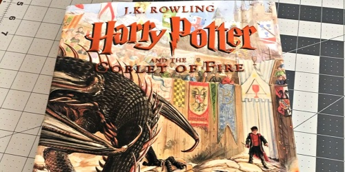 Harry Potter and the Goblet of Fire Illustrated Hardcover Book Only $19 Shipped on Amazon (Regularly $29)