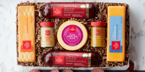 Hickory Farms Summer Sausage & Cheese Gift Box Only $13.50 (Regularly $45) + More