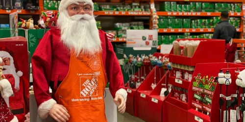 Up to 75% Off Indoor & Outdoor Holiday Decor at The Home Depot