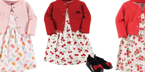 Hudson Baby Girl Dress, Cardigan & Shoes as Low as $9.70 on Amazon