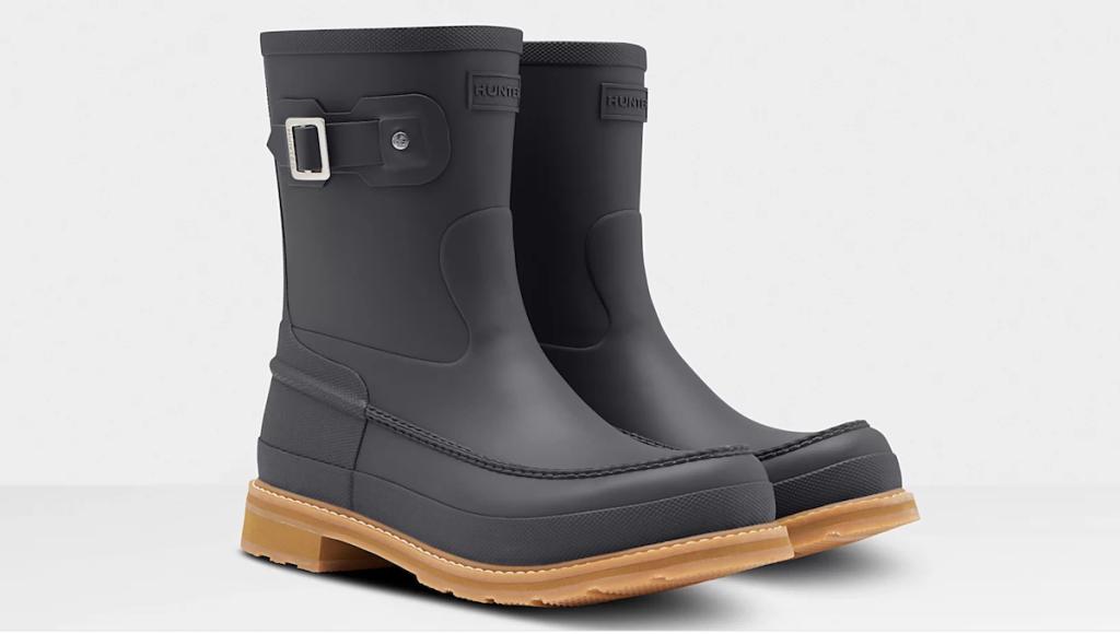 Hunter Men's Moc Toe Boots
