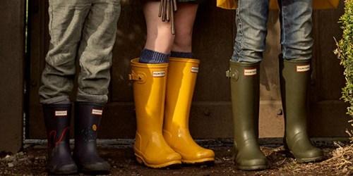 Hunter Kids Rain Boots Just $40.80 Shipped (Regularly $80)