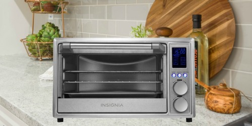 Insignia Air Frying Toaster Oven Only $59.99 Shipped at Best Buy (Regularly $100)