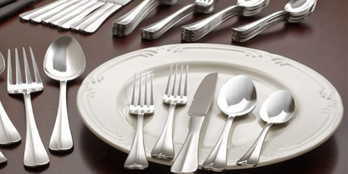 International Silver Stainless Steel 51-Piece Flatware Sets Only $29.99 Shipped on Macys.com (Regularly $80)