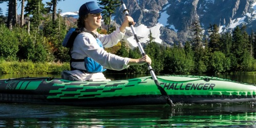 Intex Challenger Inflatable Kayak w/ Oar & Pump Only $35.99 Shipped (Regularly $80)
