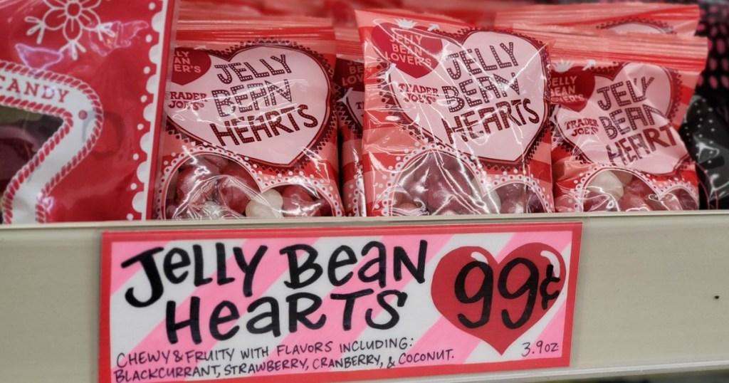 Jelly Bean Hearts at Trader Joe's