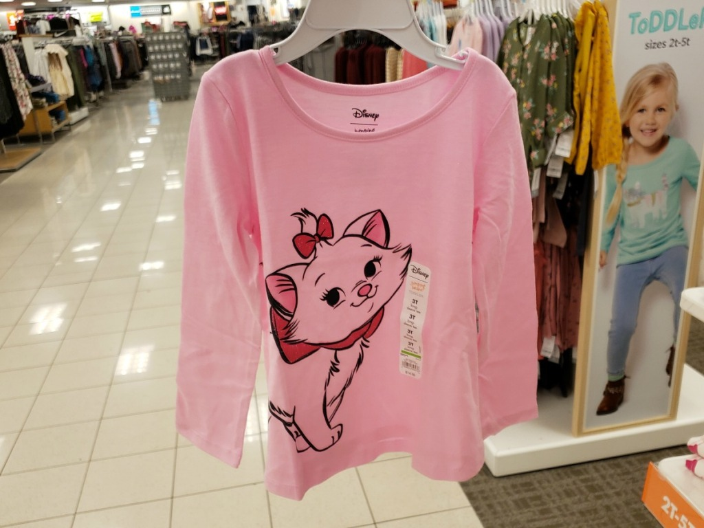 Jumping Beans Disney Girls themed graphic tee